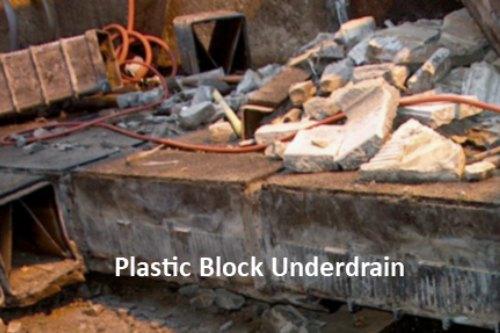 Plastic Block Underdrain Failure