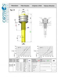 Typ D Filter Strainer