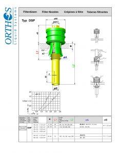 Typ DSP Filter Strainer