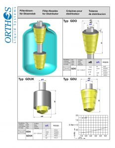 Filter Nozzle for Distributor