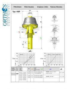 Typ KSP Filter Strainer