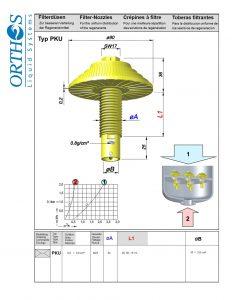PKU Filter Strainer
