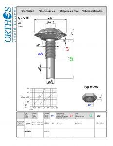 V10 Filter Strainer