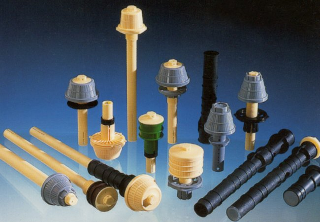 Water treatment nozzles