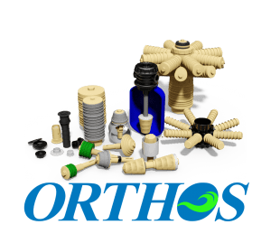 Orthos Logo with Nozzles