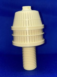 Nozzle for water filtration