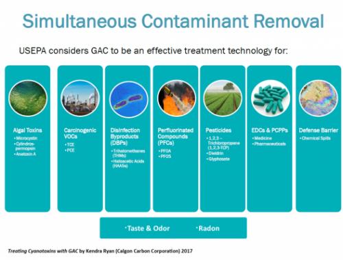 GAC Treatment Uses